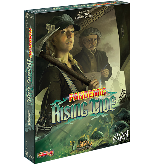 Pandemic: Rising Tide Board Game - Macronova Games