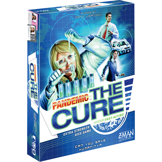 Pandemic: The Cure Board Game - Macronova Games