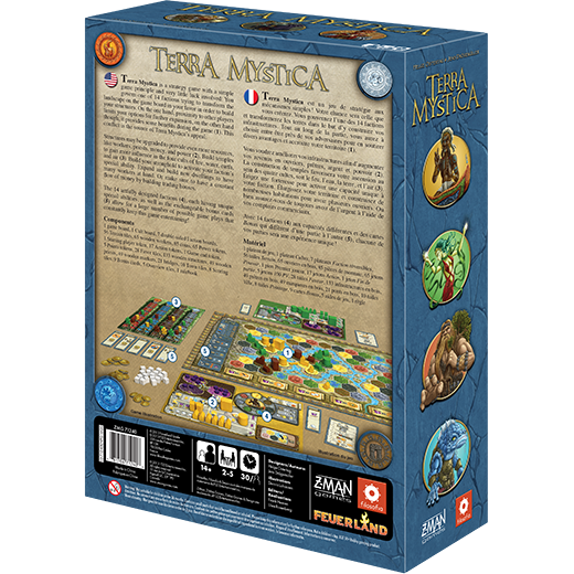 Terra Mystica Board Game - Macronova Games