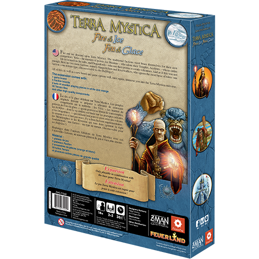 Terra Mystica: Fire & Ice Board Game - Macronova Games
