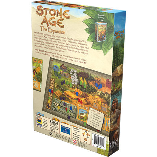 Stone Age The Expansion Board Game - Macronova Games