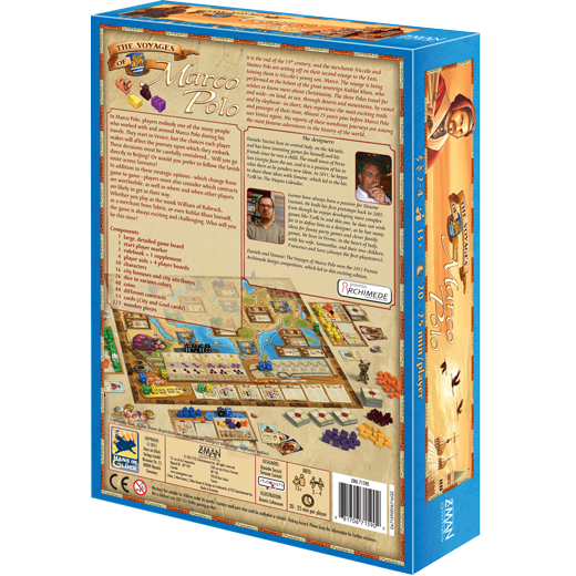 The Voyages of Marco Polo Board Game - Macronova Games