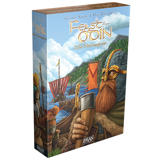 A Feast for Odin: The Norwegians Expansion Board Game - Macronova Games