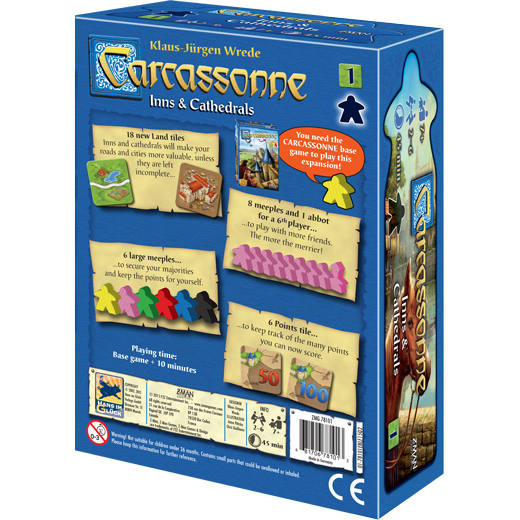 Carcassonne: Inns and Cathedrals - Macronova Games