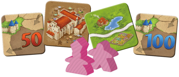 Carcassonne: Inns and Cathedrals Board Game - Macronova Games