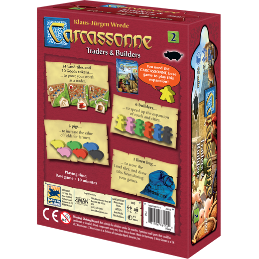 Carcassonne: Traders and Builders - Macronova Games