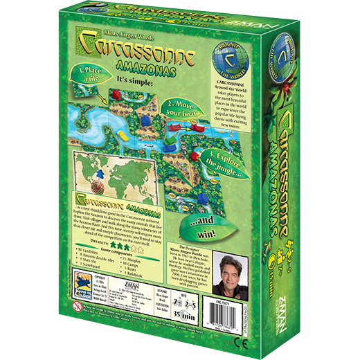 Carcassonne: Amazonas Board Game - Macronova Games