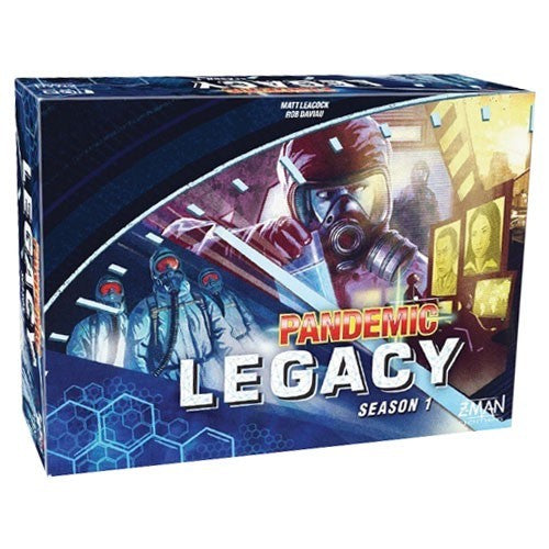 Pandemic: Legacy Season 1 - Blue Board Game - Macronova Games