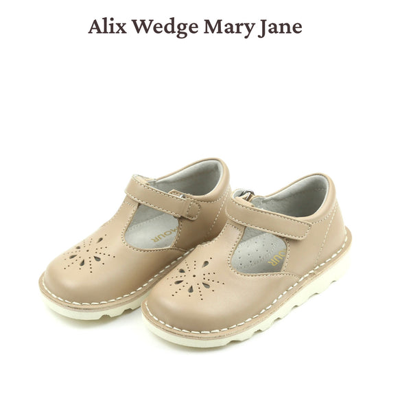 Alix Wedge Mary Jane