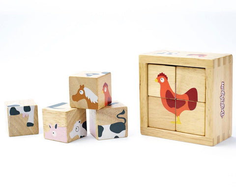 Buddy Blocks Farm animals puzzle