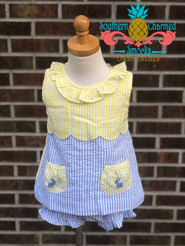 Southern Bunny Bloomer Set