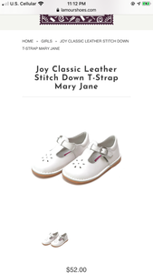 L'Amour joy stitch down -WHITE