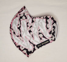 ADULT VGC FACE-MASK VWKW WHITE LEOPARD WHITE PINK