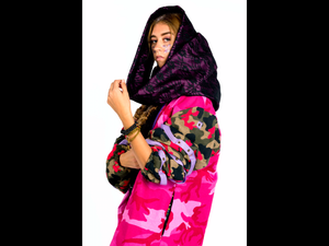 Hot Pink - StarWars Camouflage - Purple Lace