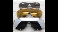 AVIATOR ONE OVERSIZED SUNGLASSES