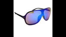 AVIATOR LARGE MIRRORED SUNGLASSES