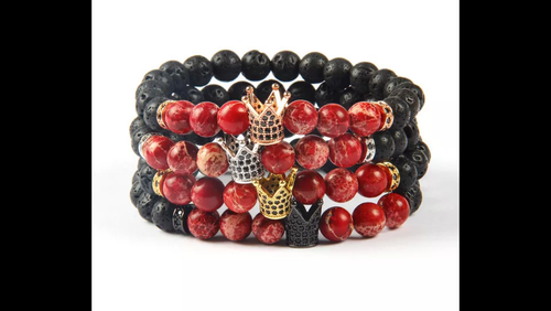 CROWN KINGS LAVA BRACELET