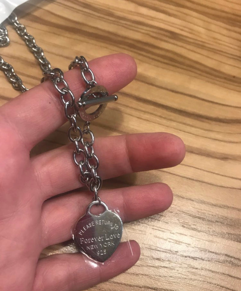 Forever Love Charm Necklaces