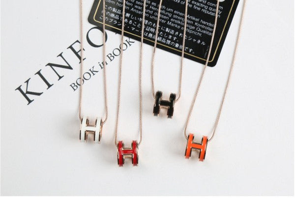 H Necklaces