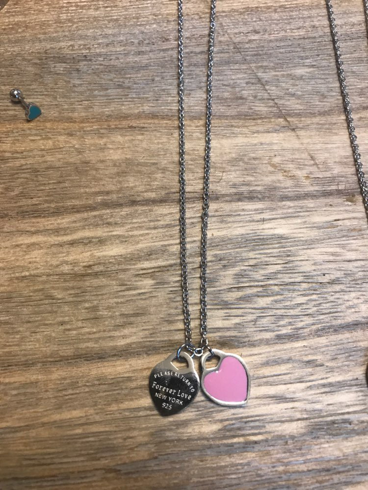 Forever Love Double Heart Necklace