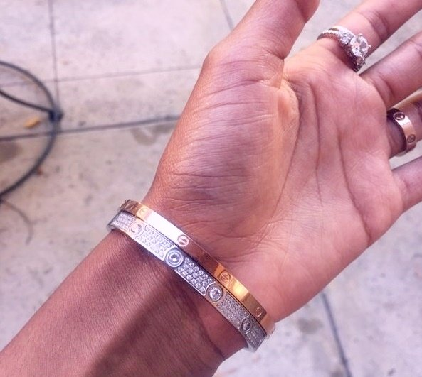 Paved Love Bracelets