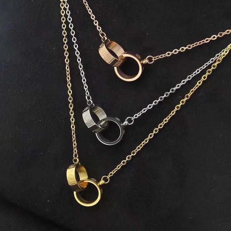 Double Love Necklaces