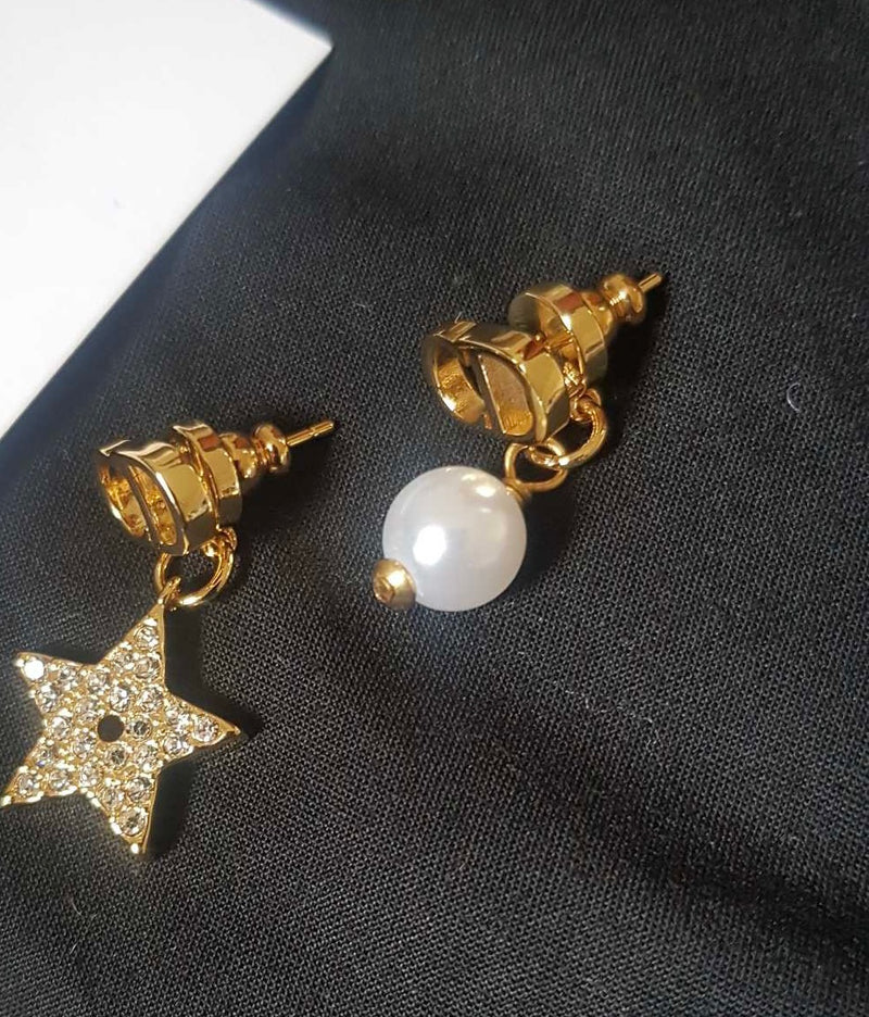 Little Star Pearl Earrings