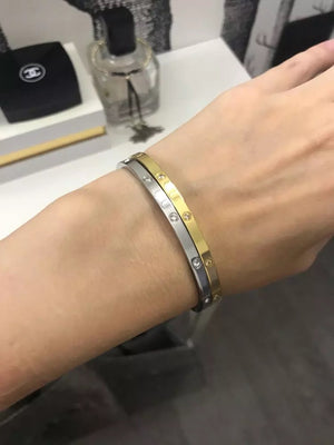 Trendy Stainless Steel Bracelet