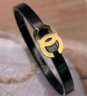 Black Stainless Bangle