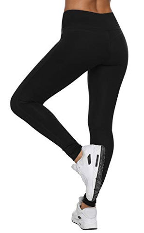 Vutru Women'S Workout Leggings Tummy Control Yoga Running Pants Compression Leggings