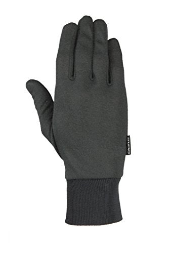 Seirus Innovation 2110 Deluxe Thermax Winter Cold Weather Glove Liner Or Lightweight Glove, Black, Small/Medium