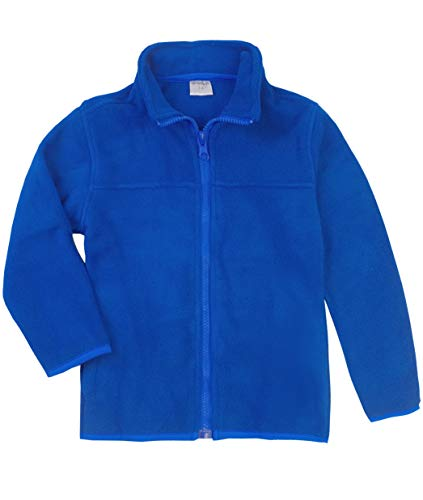 Spring/&Gege Kids Solid Full-Zip Polar Outdoors Fleece Jacket