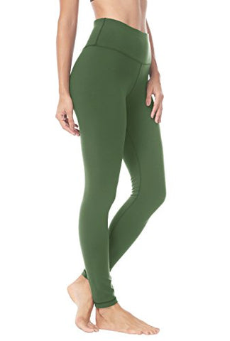 Queenie Ke Women Yoga Leggings Pants Workout Running Peach Hip Size Xs Color Army Green