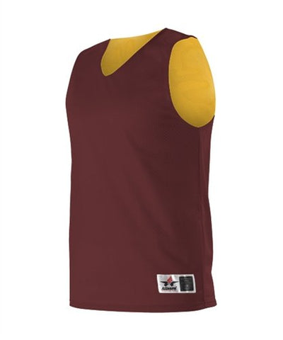 Alleson Reversible Mesh Basketball Jersey - Women'S - Maroon/Gold - Small