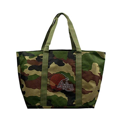 Nfl Cleveland Browns Camo Tote