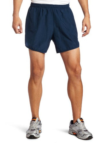 Soffe Men'S Running Short With Pocket, Navy Large