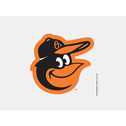 Wincraft Mlb Baltimore Orioles 93907012 Perfect Cut Color Decal, 4  X 4 , Black