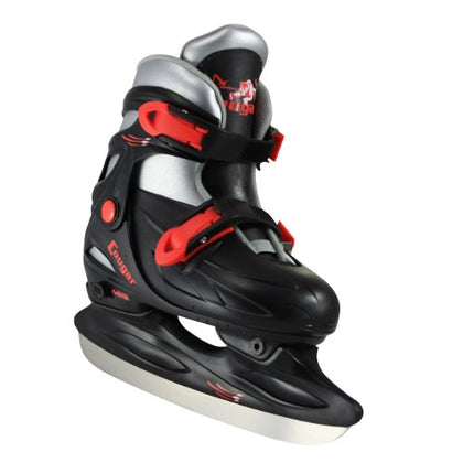 American Athletic Shoe Cougar Adjustable Hockey Skates, Black, X-Small/6-9 Youth