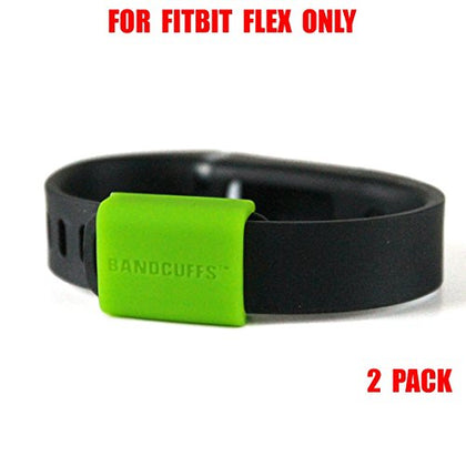Bandcuffs Brand Security Loop For Fitbit Flex, Neon Green