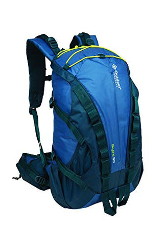 Outdoor Products Skyline Internal Frame Backpack, Blue Ashes, Medium