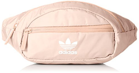 Adidas Originals National Waist Pack, Blush Pink/White, One Size