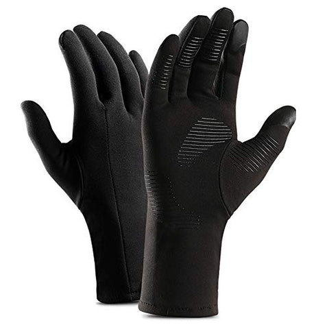 Mayxunbeauty Running Gloves,Walking Glove, Touch Screen Gloves, Cold Weather Windproof Gloves For Climbing, Cycling, Skiing, Non-Slip Silicone Gel Glove