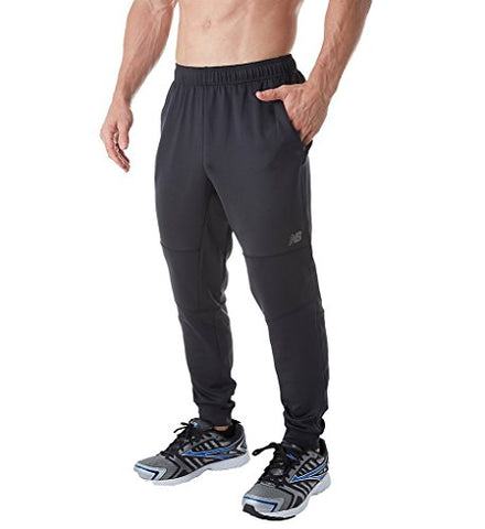 New Balance Mens Tapered Gazelle Pant, Black, Large