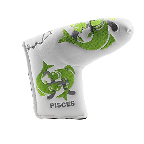 Volf Golf Twelve Constellation Series Putter Club Head Cover Headcover  Replacement For Scotty Cameron Odyssey Blade Taylormade Titleist Ping  (Pisces