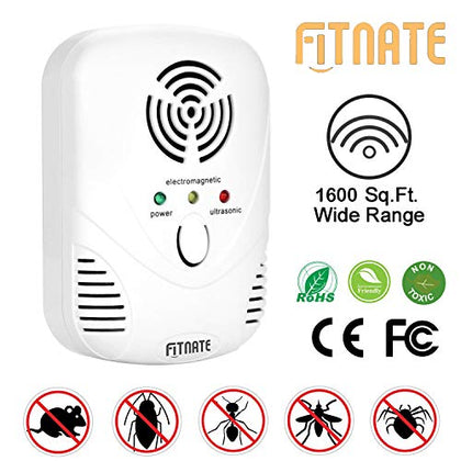 Florious Living Bed Bug And Dust Mite Killer - Ultrasonic Wave Technology - Chemical Free Solution