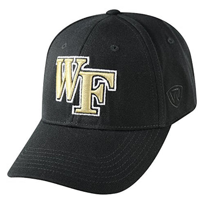 Top Of The World Ncaa Wake Forest Demon Deacons Memory Fit Wool Blend Hat, One Size, Black