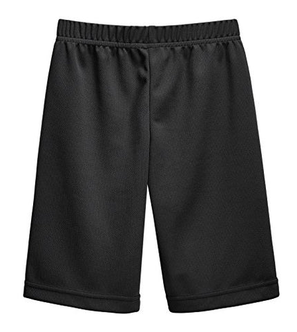 City Threads Athletic Shorts For Boys And Girls Sports Camps School Running Basketball Shorts Perfect For Sensitive Skin On Spd Clothing, Black, 10