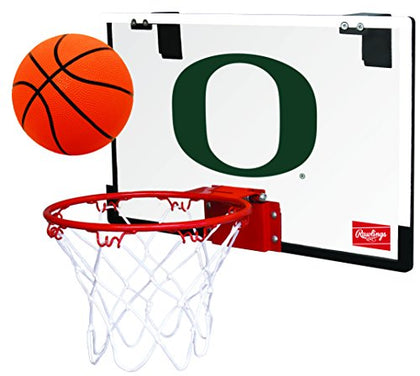Ncaa Oregon Ducks 00673095111Ncaa Game On Polycarbonate Hoop Set (All Team Options), Green, Youth