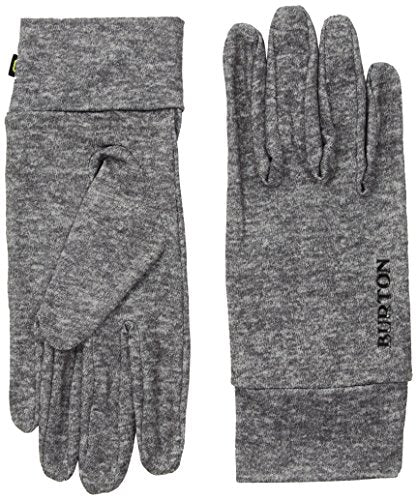 Burton Touchscreen Liner Gloves, Monument Heather, Large/X-Large