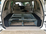 Dobinsons Rear Dual Roller Drawer System for Toyota Land Cruiser 100 Series with Fridge Slide and Side Panels